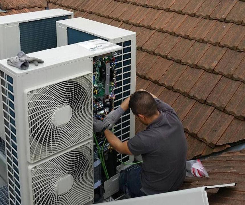 Roaire: instalaciones de climatización y aire acondicionado Madrid